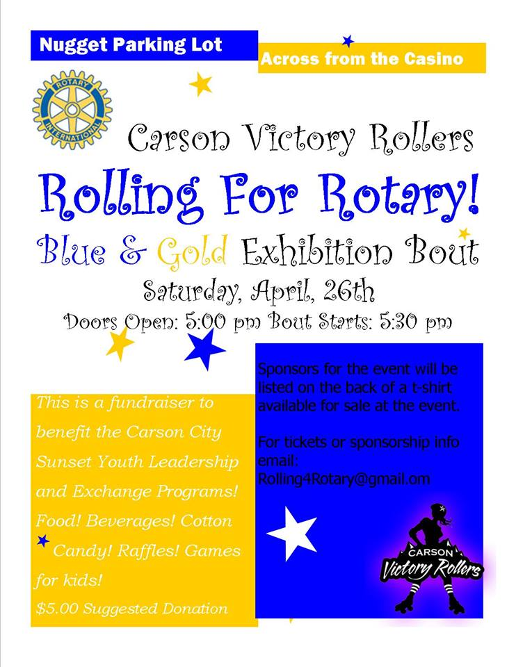 Rolling for Rotary