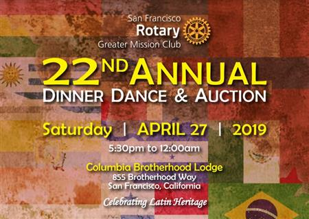 22nd Annual Mission Rotary Dinner Dance & Auction