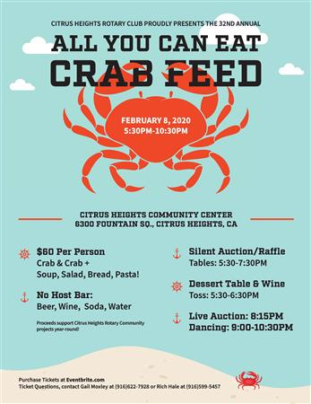 32nd Annual Crab Feed